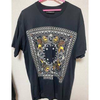 ジバンシィ(GIVENCHY)のジバンシー ロットワイラーバンダナ tシャツ xsサイズ(Tシャツ/カットソー(半袖/袖なし))