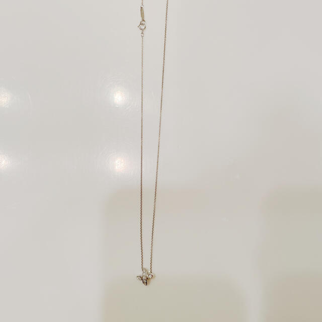 Tiffany & Co.(ティファニー)の定価20万★ティファニー ダイヤネックレス クロスステッチ レディースのアクセサリー(ネックレス)の商品写真