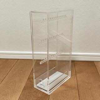 ムジルシリョウヒン(MUJI (無印良品))の無印 イヤリング収納透明ケース(ケース/ボックス)