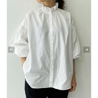 L'Appartement DEUXIEME CLASSE - 新品タグ付 Stand Frill Blouse アパルトモン