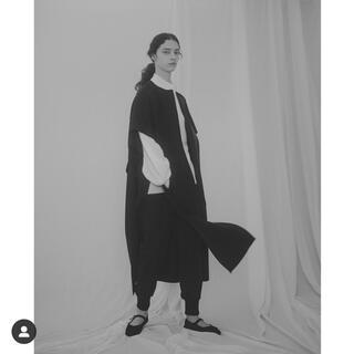 Drawer - BLAMINK  ジレ コート ワンピース ネイビー ブラミンク ドゥロワー