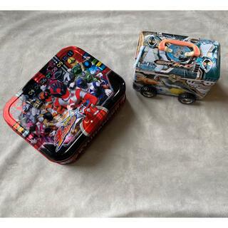 おもちゃ缶 キュウレンジャー フォーゼ 仮面ライダー 特撮 空き缶