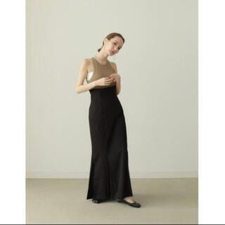 louren mermaid pleats skirt マーメイドスカート 黒