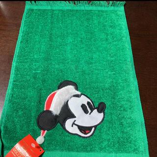 ミッキーマウス(ミッキーマウス)のミッキーマウスタオル・クリスマスコレクション グリーン(タオル)