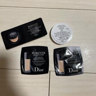 ディオール(Dior)のDior ファンデーションサンプル(サンプル/トライアルキット)