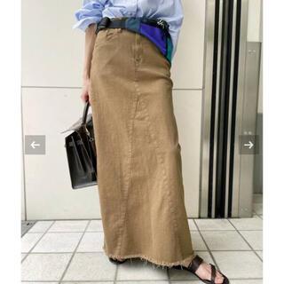 L'Appartement DEUXIEME CLASSE - GOOD GRIEF! A Line Fringe Hem Skirt