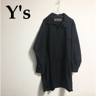 ヨウジヤマモト(Yohji Yamamoto)のY's bang on NO.15 ファスナーシャツ コート ヨウジヤマモト(チェスターコート)