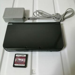 ニンテンドー3DS - new3DSLL メタリックブラック