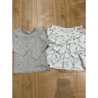 フタフタ(futafuta)のママラク  フタフタ 長袖Tシャツ 2枚セット(Tシャツ/カットソー)