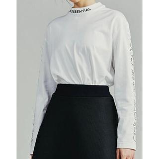 ダブルスタンダードクロージング(DOUBLE STANDARD CLOTHING)のダブスタ❣️希少割引❣️ ESSENTIAL ボックスシルエットロゴロンT(Tシャツ/カットソー(七分/長袖))