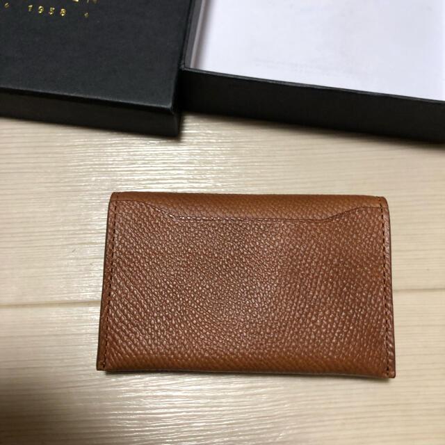 JUNMEN(ジュンメン)のジュンメン 名刺入れ カードケース 未使用 定期入れ メンズのファッション小物(名刺入れ/定期入れ)の商品写真