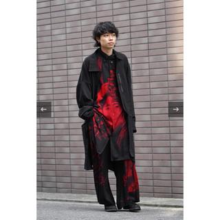 Yohji Yamamoto - Yohji Yamamoto POUR HOMME 19ss シャツコート