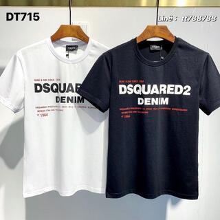 ディースクエアード(DSQUARED2)のDSQUARED2(#151)2枚9000 Tシャツ 半袖 M-3XLサイズ選択(その他)