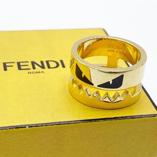 FENDI - 【極美品 箱付き】フェンディ 指輪 ゴールド モンスター mサイズ バッグバグズ
