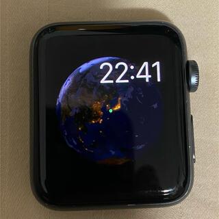 Apple Watch - Apple Watch series3 (GPS+Cellularモデル) 42