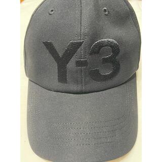 ワイスリー(Y-3)の2020SS Y3 ワイスリー ロゴ キャップ 黒  FH9290(キャップ)