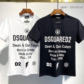 ディースクエアード(DSQUARED2)のDSQUARED2(#155)2枚9000 Tシャツ 半袖 M-3XLサイズ選択(その他)