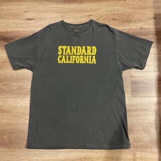 スタンダードカリフォルニア(STANDARD CALIFORNIA)の★美品★STANDARD CALIFORNIA ベーシックロゴT XL(Tシャツ/カットソー(半袖/袖なし))