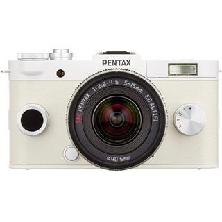 PENTAX - PENTAX ミラーレス一眼 Q-S1 ズームレンズキット ピュアホワイト