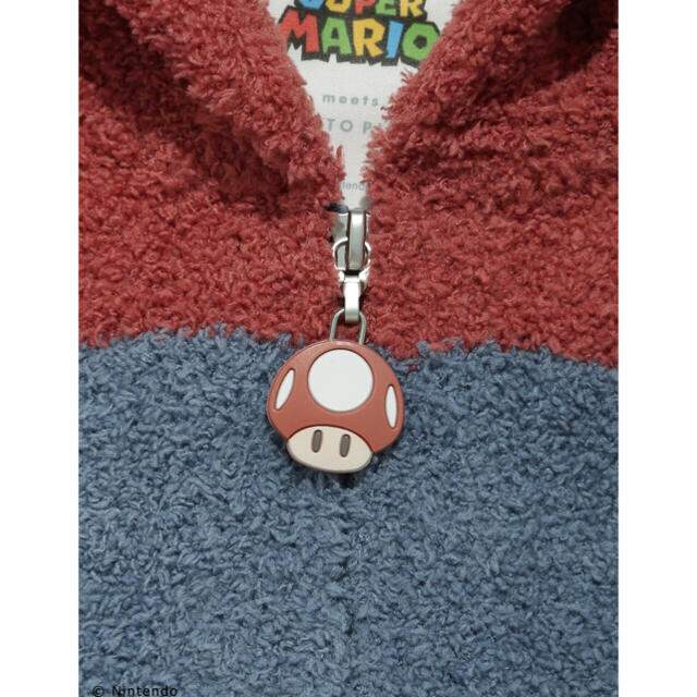 gelato pique(ジェラートピケ)のgelato pique ジェラート ピケ スーパーマリオ マリオ ロンパース キッズ/ベビー/マタニティのベビー服(~85cm)(ロンパース)の商品写真