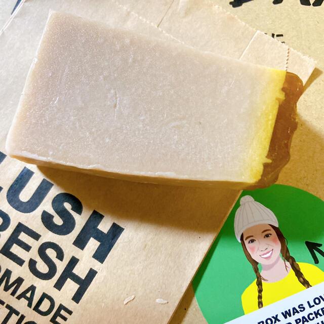 LUSH(ラッシュ)のLUSH みつばちマーチ コスメ/美容のボディケア(ボディソープ/石鹸)の商品写真