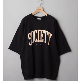 BEAUTY&YOUTH UNITED ARROWS - 新品 BEAUTY&YOUTHレタード ライト スウェット ハーフスリーブ