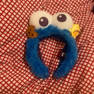 ユニバーサルスタジオジャパン(USJ)のユニバ カチューシャ クッキーモンスター(キャラクターグッズ)