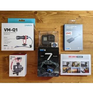 ゴープロ(GoPro)のGoPro HERO7 BLACK マイクアダプター VM-Q1(その他)