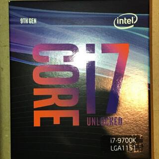 新品Intel BX80684I79700K CPU Core i7-9700K(PCパーツ)