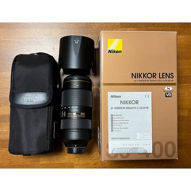 Nikon(ニコン)のNikon AFーS NIKKOR 80ー400mm f4.5ー5.6G ED スマホ/家電/カメラのカメラ(レンズ(ズーム))の商品写真