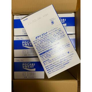 オオツカセイヤク(大塚製薬)のポカリスエット POCARI SWEAT アイススラリー 100g×36袋入り(ソフトドリンク)