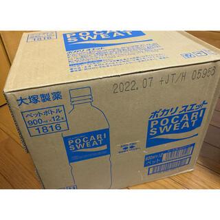 オオツカセイヤク(大塚製薬)のポカリスエット POCARI SWEAT 900ml×12本 1ケース(ソフトドリンク)