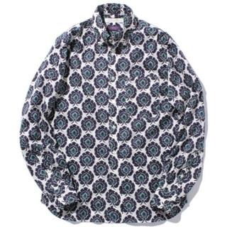 ビームス(BEAMS)の LIBERTYプリントボタンダウンシャツ リバティプリント ボスフォラス(シャツ)