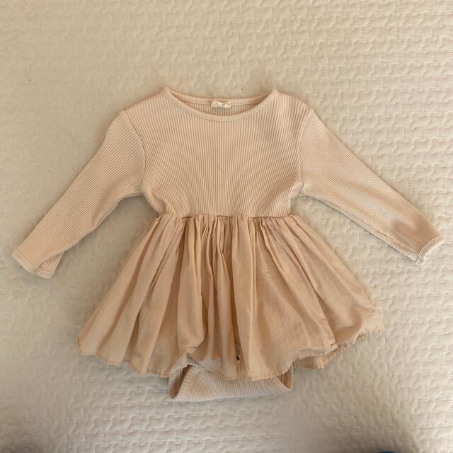 petit main(プティマイン)のモンベベ キッズ/ベビー/マタニティのベビー服(~85cm)(ロンパース)の商品写真