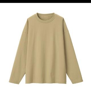 MUJI (無印良品) - MUJI Labo ムジラボ 超長綿天竺編み クルーネック長袖Tシャツ 男女兼用
