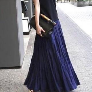 ノーブル(Noble)のマリハ 草原の虹のスカート 美品(ロングスカート)