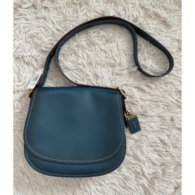 COACH(コーチ)の【新品】COACH サドルバッグ 定価70,400円 レディースのバッグ(ショルダーバッグ)の商品写真