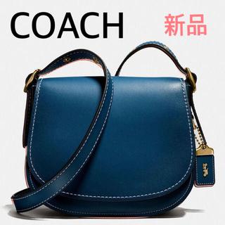 COACH - 【新品】COACH サドルバッグ 定価70,400円