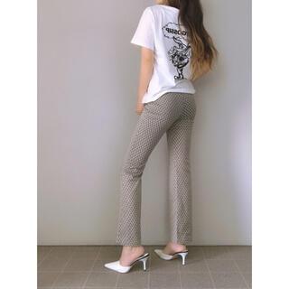 ジェイダ(GYDA)の【GYDA】paparazzi bunnyロゴTシャツ(Tシャツ(半袖/袖なし))