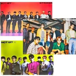 3種セット★ NCT 127 ポスター Sticker アルバム CD