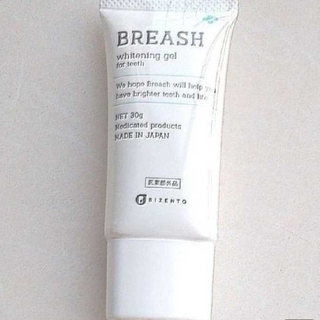 BREASH ブレッシュホワイトニングジェル