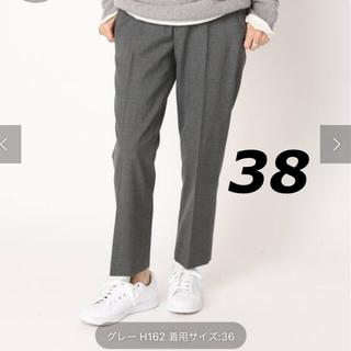 ドゥーズィエムクラス(DEUXIEME CLASSE)の☆【CINOH/チノ 】 CROP パンツ 38(クロップドパンツ)