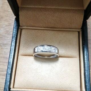 pt900 0.30ct  ダイヤモンド リング pt850 K18 0.3ct