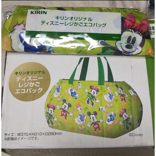 Disney(ディズニー)の【新品未使用】キリンオリジナル ディズニーレジカゴバッグ レディースのバッグ(エコバッグ)の商品写真