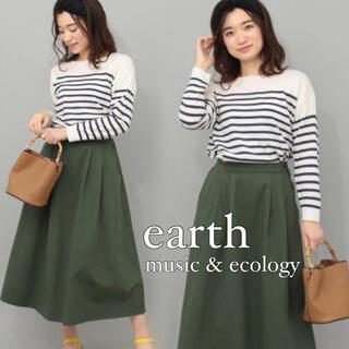 earth music & ecology - earth music&ecology ボーダー ニット プルオーバー*ZARA