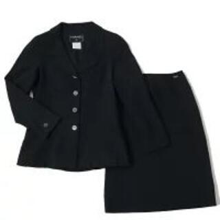 シャネル(CHANEL)の【美品】 シャネル スーツ 上下 スカート サイズ34(スーツ)