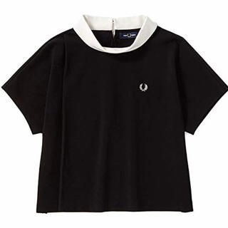FRED PERRY - FRED PERRY フレッドペリー ローネックカットソー