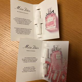 クリスチャンディオール(Christian Dior)のミスディオール サンプル(香水(女性用))