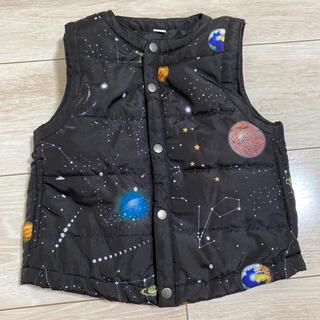 Design Tshirts Store graniph - グラニフ ダウンベスト 90センチ
