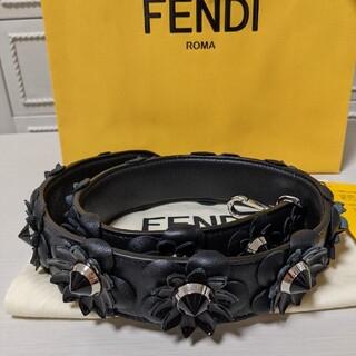 FENDI - 新品未使用 フェンディ ストラップユー ブラック